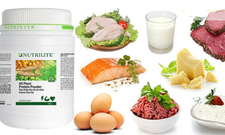 Mua protein amway giá rẻ tăng dinh dưỡng cho bữa ăn